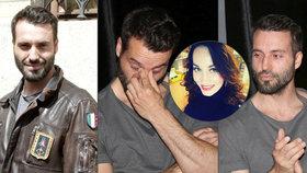 Ztrhaný Václav Noid Bárta s hlavou v dlaních: Unavila ho nová milenka?