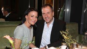 Moderátorka Gábina Partyšová: Po dlouhé době s manželem ve společnosti