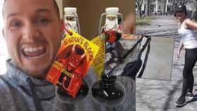 Nejhorší přítel roku? Vtipálek potřel přítelkyni tanga nejpálivějším chilli