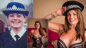 Sexy policistka sekla s prací a stala se striptérkou! Vydělává dvakrát víc