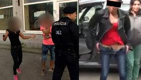 Žena, která oslnila policisty bobříkem: Frndičkou hrozila již v minulosti