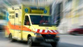 V dolech u Chomutova se zranil muž. V nemocnici vážným zraněním podlehl
