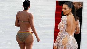 """Pravda o zadku Kim Kardashian: Má """"brazilskou zvedačku"""", tvrdí plastický chirurg"""