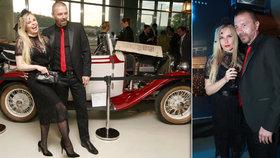 Bouřlivák Řepka vedle Kristelové vyměkl: Hodil se do gala a vyrazil na výstavu šatů!
