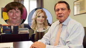 Paroubek promluvil o penězích: Vydělává víc než jeho ženy Petra se Zuzanou?