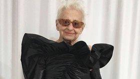 V mládí utekla před nacisty, v 95 letech se stala modelkou!