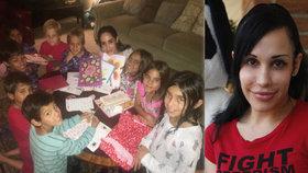 Jak dnes žije slavná oktomáma (41)? 10 ze 14 malých dětí udělala vegany!
