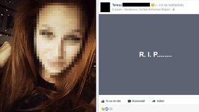 Terezka (†18) zemřela na kolejích u Mlékojed: Sama oplakávala holky, které zde spáchaly sebevraždu