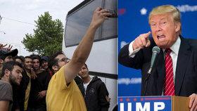 Trump prohrál soud kvůli zadržování rodin migrantů pohromadě. Vláda je prý cynická