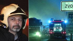 Smutné výročí pro pražské hasiče! Na kolegu Honzu (†45) nezapomínají ani tři roky po tragédii ve Zvoli