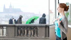 Teploty rozdělily Česko. Na Zlínsku bylo o 15 stupňů víc než na Karlovarsku