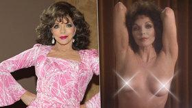 Nahá Alexis z Dynastie: Joan Collins ukázala prsa ve 46 letech