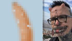Nejpropíchanější muž světa odhalil, jaké je to mít sex: V penisu má 278 piercingů