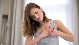 Zlomené srdce je stejně nebezpečné jako infarkt. Následky bývají trvalé