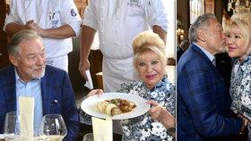 Slavnostní oběd na počest Ivany Trump: Podívejte, co jedla miliardářka