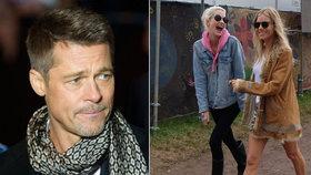 Brad Pitt po rozchodu s Angelinou: Sbalil Siennu Miller?!