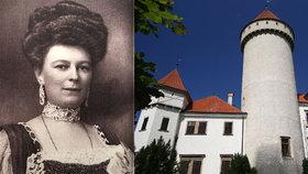 Unikátní expozice na Konopišti o smrti Františka Ferdinanda a vévodkyně Žofie: V jakých šatech umírala?