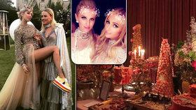 Dechberoucí luxus, odhalená ňadra a celebrity! Takhle slaví princezna 21. narozeniny