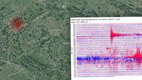 Zemětřesení v Česku: Karlovarský kraj zasáhlo chvění o síle až 3,5 stupně