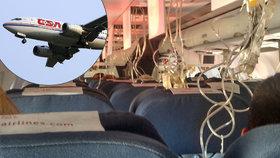 Nouzové přistání českého letadla: Vypadly masky, lidé se báli o život, nemohli dýchat