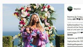 Beyoncé poprvé ukázala svá dvojčátka: Tučné příjmy jim zajistila už před narozením