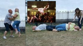 Postarší pár trénoval zvedačku z Hříšného tance: Skončili v nemocnici!