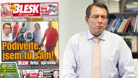 FOTO JAKO DŮKAZ! Expremiér Paroubek není ve Francii sám! Přitom tvrdil opak…