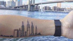Architektura na kůži! Podívejte se na 50 úžasných tetování