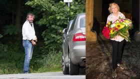 Trapas Alexeje Pyška na oslavě: Močil před domem, pak gratuloval