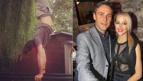 Roman Vojtek je ve formě: Předvedl gymnastické kousky a odhalil břišní pekáč