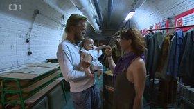 Neplodný pár zázračně počal dítě: V atomovém krytu pod Špilberkem