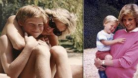 Harry a William neviděli mámu Dianu měsíc před smrtí: Zemřela den před jejich setkáním