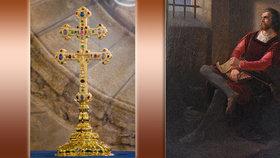 Závišův kříž: Na jihu Čech je k vidění vzácnost srovnatelná s korunovačními klenoty