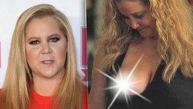 Komička Amy Schumer se toho nebojí: Ukázala nahé prso!
