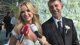 Svatba Babiše: Zpíval Michal David, další celebrity ale chyběly! Proč?