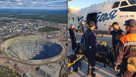 Záplava v diamantovém dolu na Sibiři: Horníky evakuují, 9 lidí pohřešují