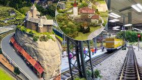 Království železnic: Místo, kde můžete strávit půl dne a ještě si odpočinout