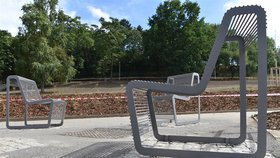 Park Pod Plynojemem v Libni kompletně v novém: Nezůstal tu kámen na kameni