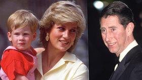 Čím princ Charles zlomil Dianě srdce? Jejich vztah zemřel na křtinách Harryho