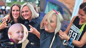 Strážnice Šárka a Petra přišly na metalovém festivalu o vlasy: Získají je děti s rakovinou