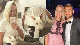 Kobzanová porušila partnerův zákaz a pořídila si psa. Frolík záhy zmizel
