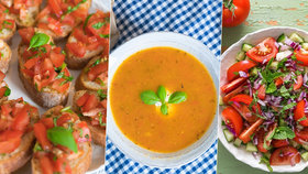 Rajčatové orgie: 4 recepty na osvěžující a báječnou baštu!