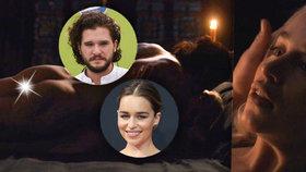 Žhavé Hry o trůny: Jon Snow a Daenerys Targaryen předvedou vášnivý sex