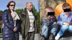 Dědeček chlapců Michalákových zemřel. Prosil o rozloučení s vnuky, už je nespatřil