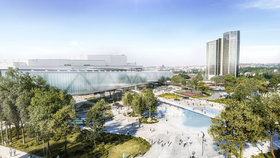 Kongresové centrum rozšíří: Takhle bude vypadat nová hala, začít stavět se má za tři roky