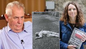 """""""Na 99 procent vražda."""" Zemanovu verzi o sebevraždě Masaryka spisovatelka odmítá"""