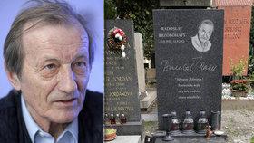 Zanedbaný hrob Radka Brzobohatého: Na výročí neměl ani zapálenou svíčku!
