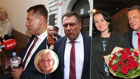 Paroubkovi u soudu: Co říkají jejich těla, prozradila odbornice Eliška Landovská