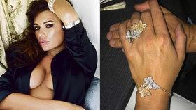 Šeredová se chlubila obřím prstenem! S Buffonem není rozvedená a už zásnuby?