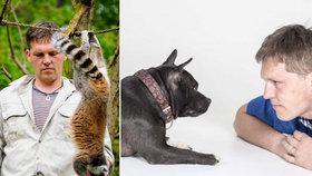 """""""Vycvičit se dá i tarantule."""" František trénoval lemury i přeštické prase"""